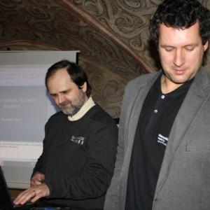 Rostislav Štork a Jakub Hraníček