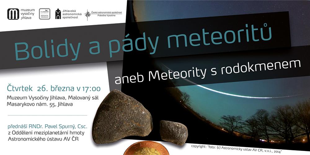 Bolidy a pády meteoritů