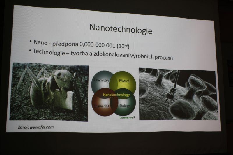 Ing. Petr Dvořák: Nanotechnologie