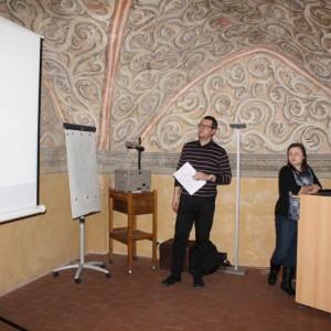 3. Plenární schůze PV ČAS: předseda Dr. Jakub Hraníček a hospodářka Ing. Petra Váňová